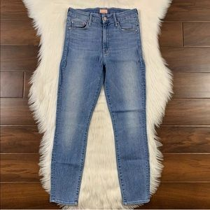 Mother Light Kitty High Waisted Looker Skinny Jean